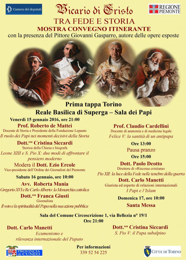 Mostra-Convegno Torino 2016